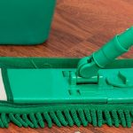 Limpiar excrementos de cucarachas