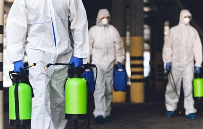 Certificado de desinfección en Arganzuela
